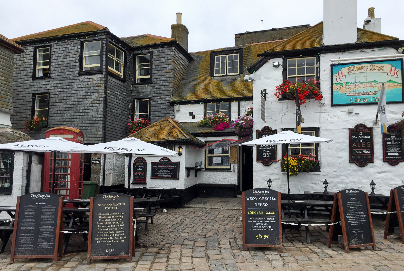 Traditionelles Restaurant in St. Ives